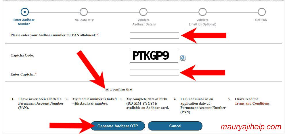 How to Apply for Instant Pan Card for Free Full Guide in Hindi