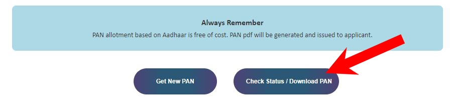 How to Check Status & Download Pan Card